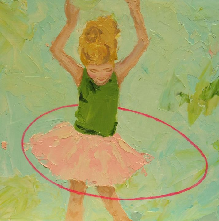 Hula Hoop - Kristin Cooney Studio