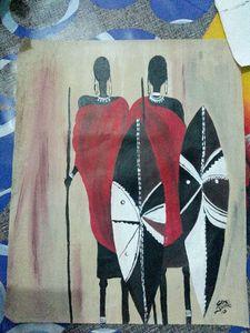 The Masai hunters