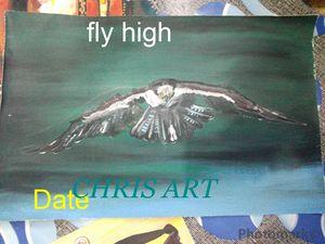 Gh Eagle Fly high