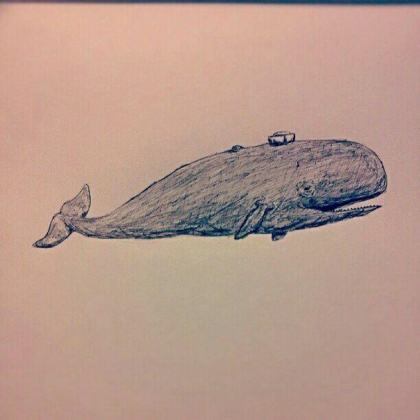 Whale Sailor - As is Printshop