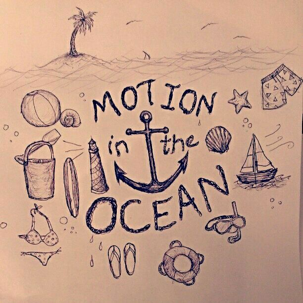 Motion in the Ocean - As is Printshop