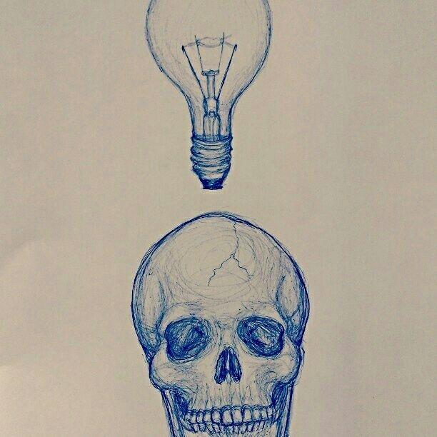Skeletal Thoughts - As is Printshop