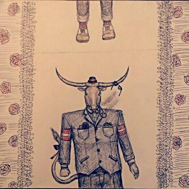 Bull Man - As is Printshop