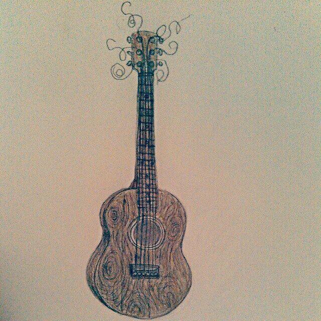 Raw Guitar - As is Printshop