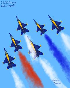 Blue Angels, Diamond Formation