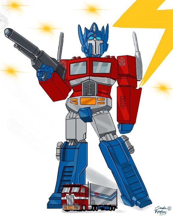 Optimus Prime - DigitalNana