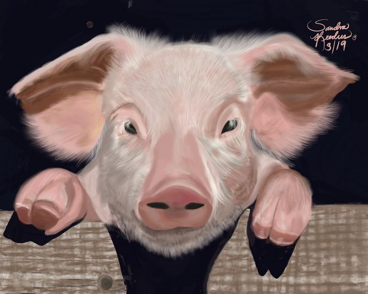 Miss Piggy - DigitalNana