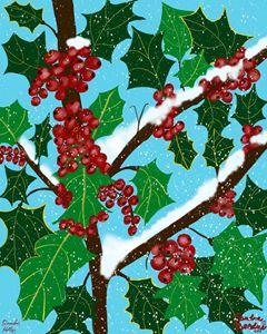 December, Holly