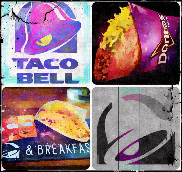taco bell love letter - MickArt