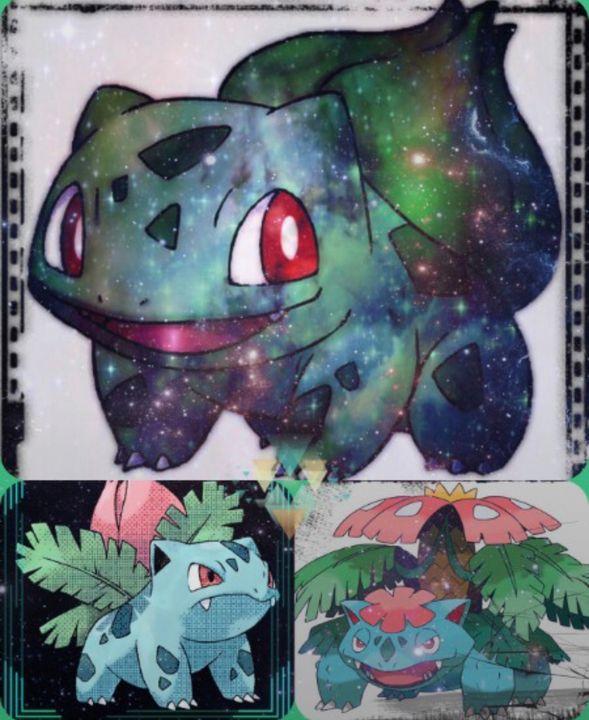 bulbasaur evolves - MickArt