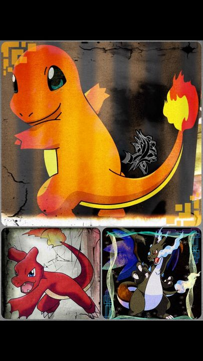 charizard evolution - MickArt