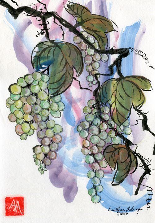 Grapes - Aelwyn Studios