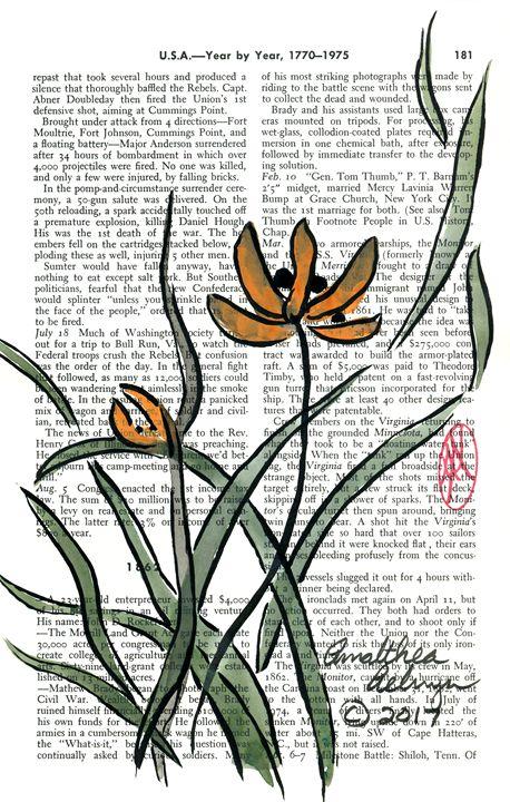 Grass Orchids - Aelwyn Studios