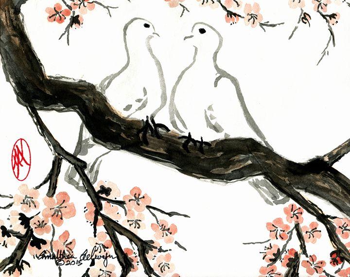 Love Doves - Aelwyn Studios