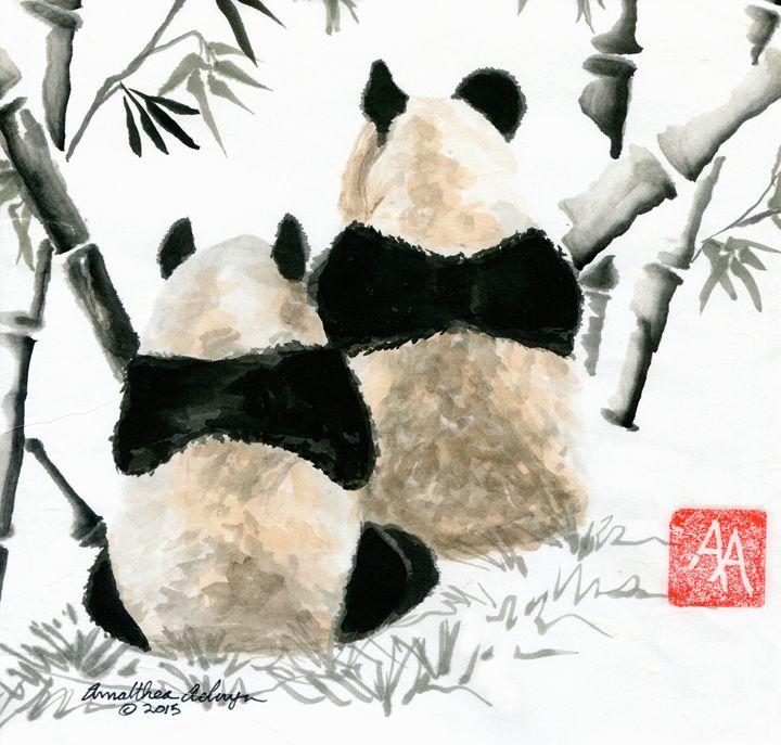 Pandas - Aelwyn Studios