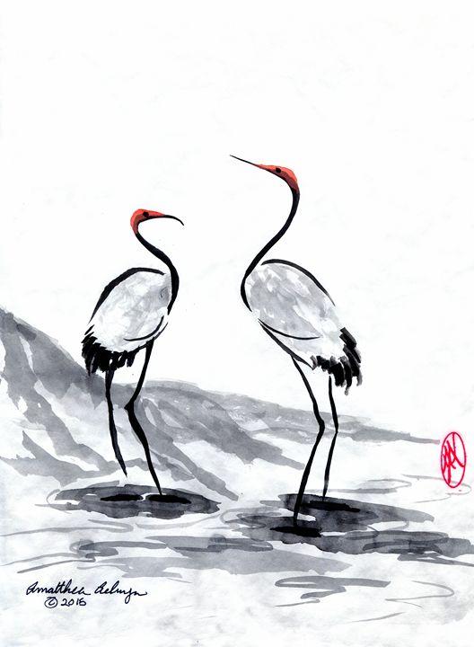 Cranes - Aelwyn Studios