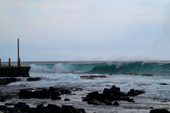 Winter Swells - Photography by Pamela