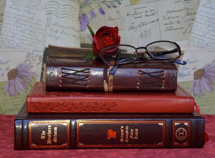 Love of Books - Photography by Pamela