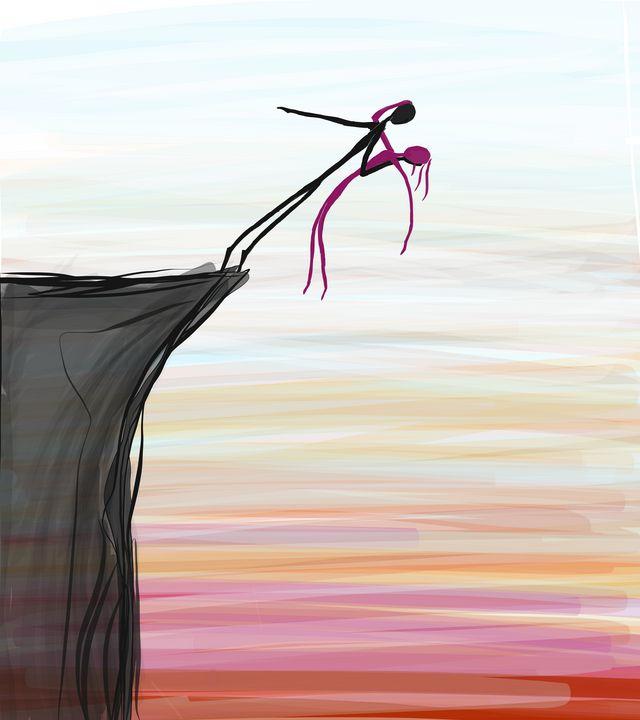 The Cliff (Digital) - The Art of Matthew Louis Tardy