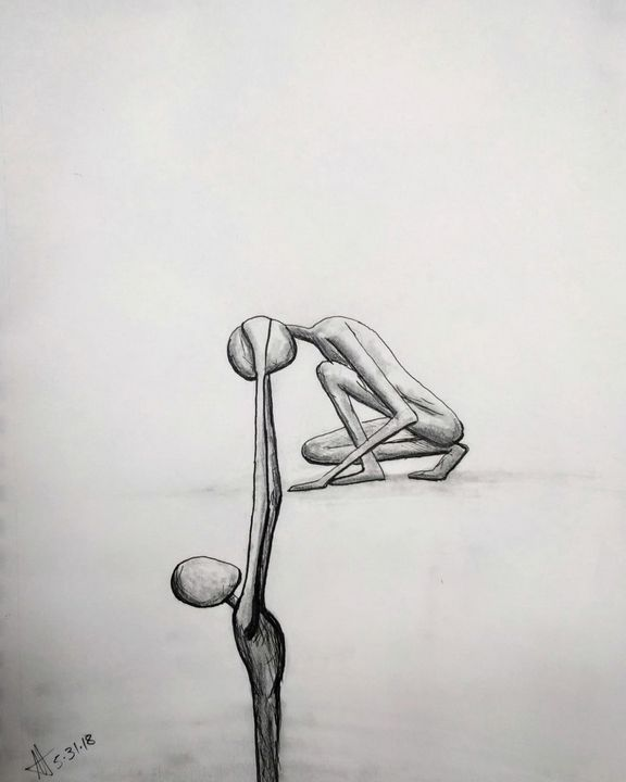 Original Sketch 053118 - The Art of Matthew Louis Tardy