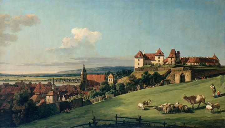 View of Pirna - Summer