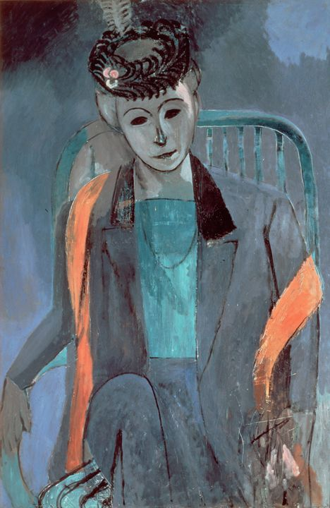 Portrait of the Artist's Wife , 1913 - Summer