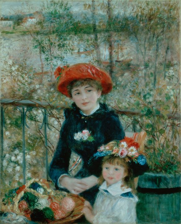 The Two Sisters On the Terrace - Summer