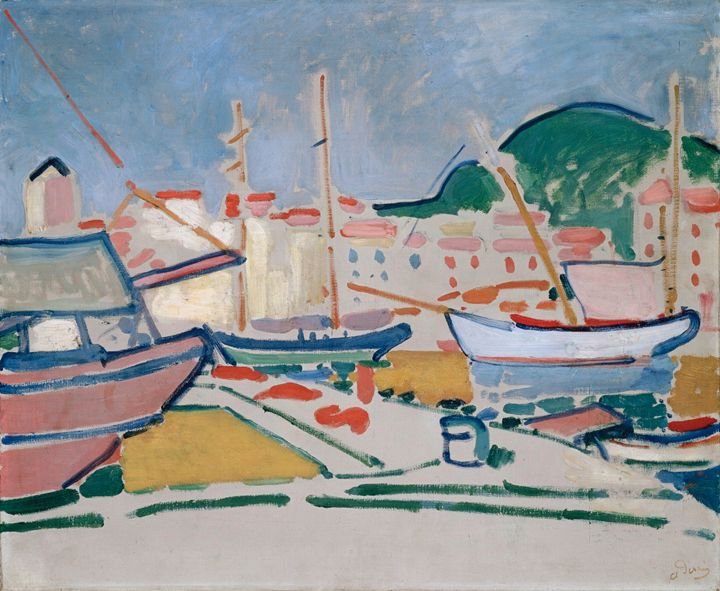 Port,1905 By Andre Derain - Summer
