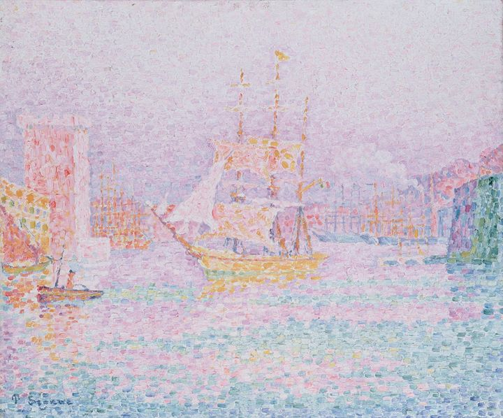 The Harbour at Marseilles - Summer