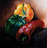 Impressionism Ball Pepper  Painting