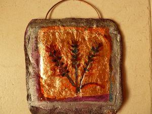 Barley symbol wall art