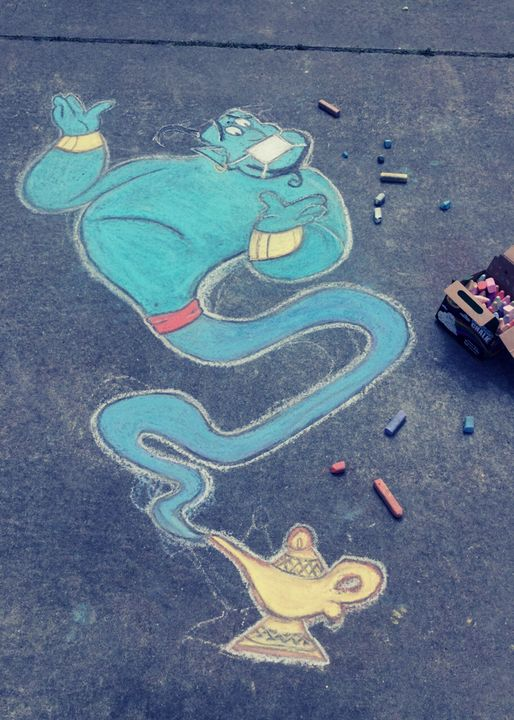 Genie (Aladdin) - Yaelle Davis