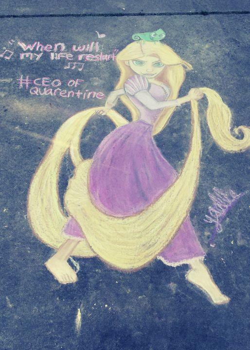 Rapunzel - Yaelle Davis