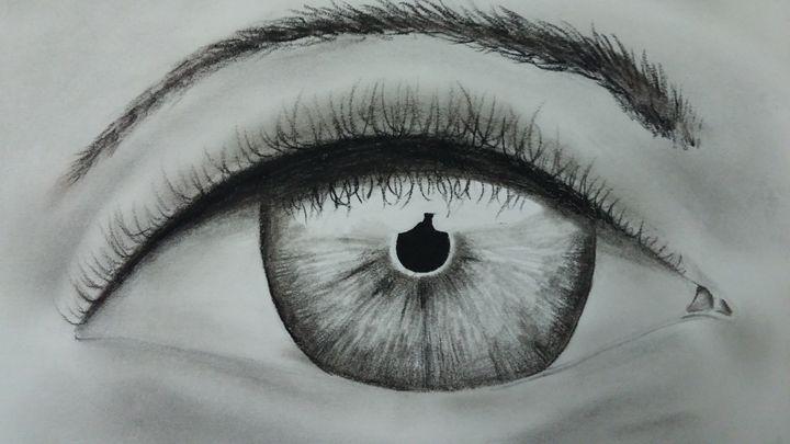 """""""Beautiful Eye"""" - Kemani Simms - Fine Art"""