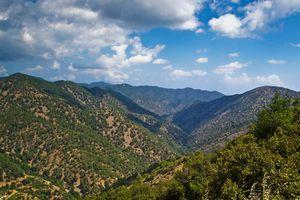 Kykkos mountains Cyprus