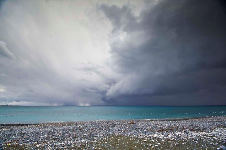 cloudy skies over the sea - Evripidou M