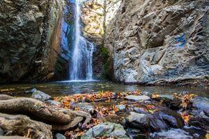 Millomeris waterfall cyprus