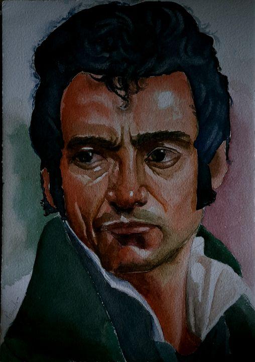 A handmade portrait - William xandercross