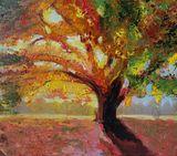 "Original Painting - ""Autumn tree"""