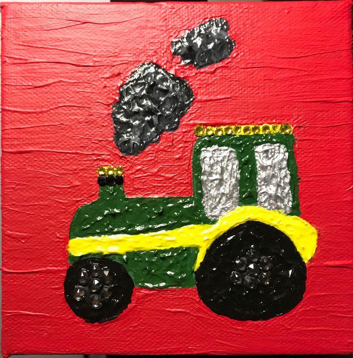John Deer Tractor - The Art Of Kindel