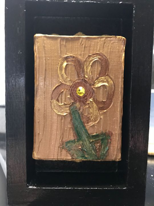Single Flower Block - The Art Of Kindel