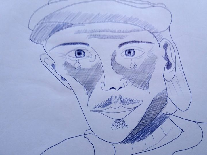 Man with hat - Esterina
