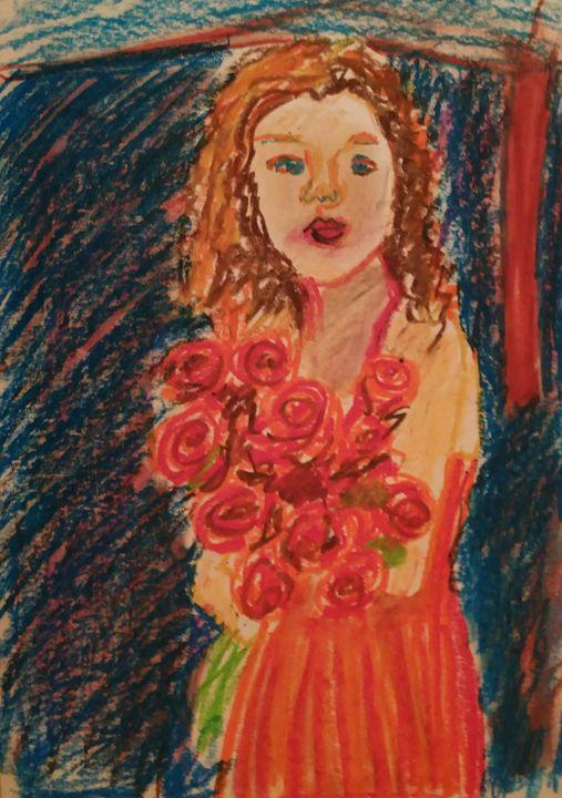 The girl in red - Esterina