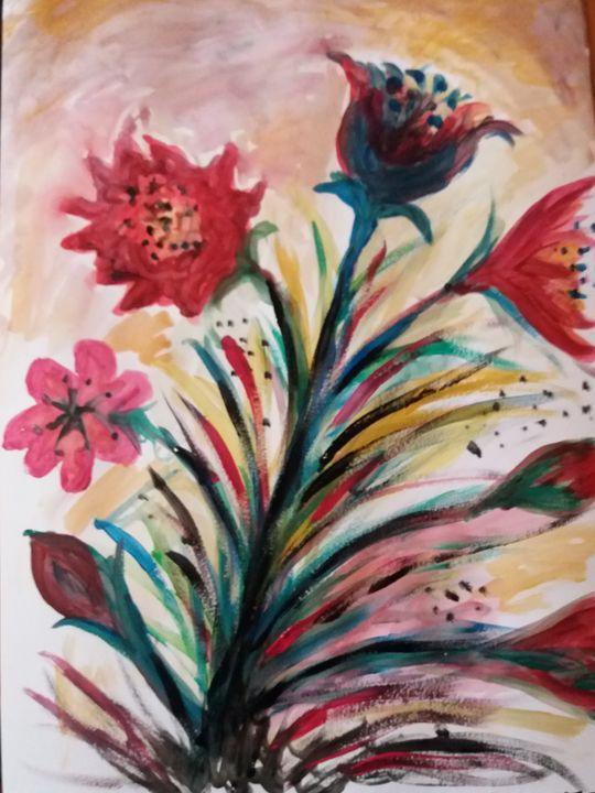 Fire flowers - Esterina