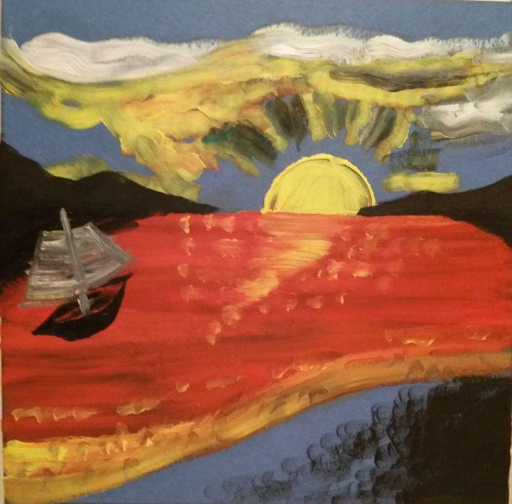 The red lake - Esterina