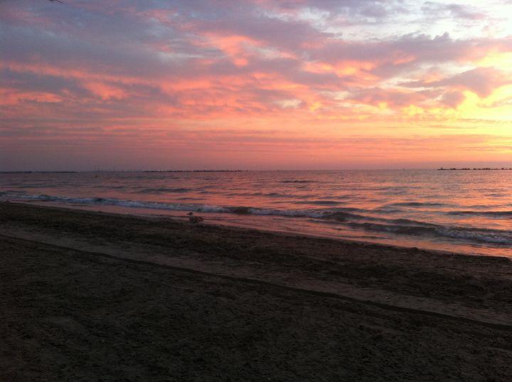 Black sea sunrise - Mihai Stoicescu