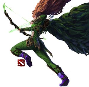 Lyralei the Windranger - Novaillusion