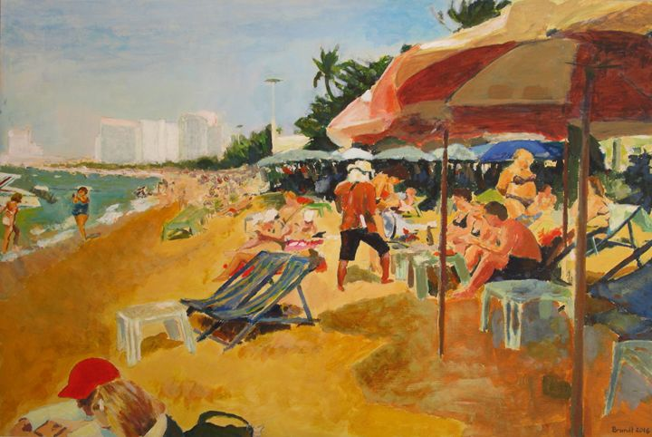 Busy Beach - Brandt Squires