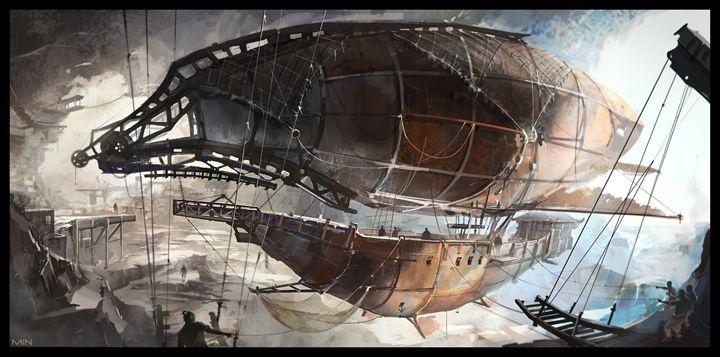 Pirate ship - Airships