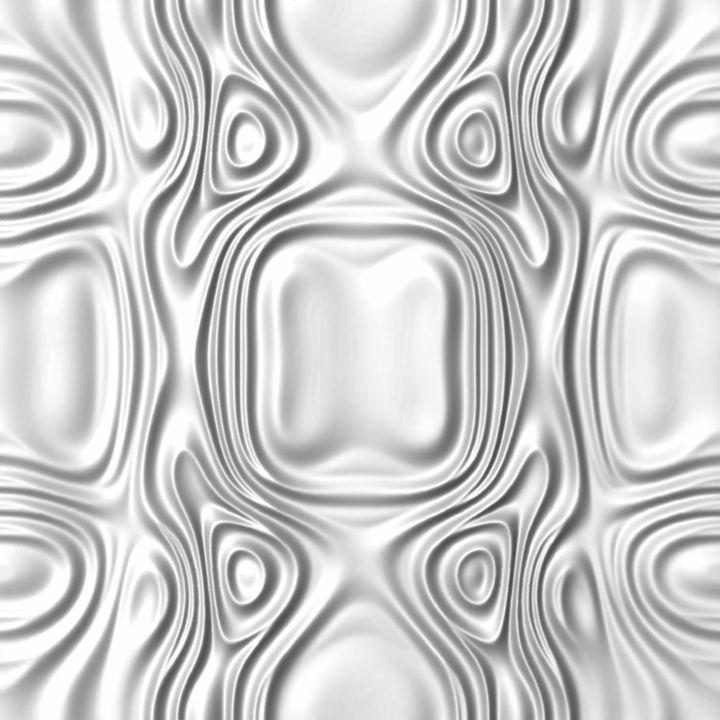 White wall sculpture - BonitumART